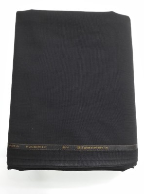 Siyarams Polyester, Viscose Solid Suit Fabric