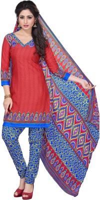 Trendz Apparels Crepe Printed Dress/Top Material