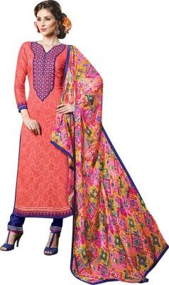 Aahalya Cotton Embroidered Salwar Suit Dupatta Material