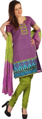 Parchayee Cotton Embroidered Salwar Suit Dupatta Material