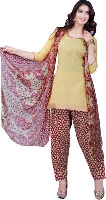 Manthan Cotton Printed Salwar Suit Dupatta Material