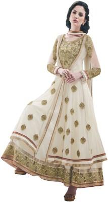 Inddus Net, Georgette Embroidered Salwar Suit Dupatta Material