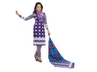 delis Cotton Printed Salwar Suit Dupatta Material
