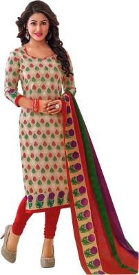 SuitsOn Cotton Printed Salwar Suit Dupatta Material