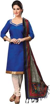 We-Desi Silk Printed Salwar Suit Dupatta Material