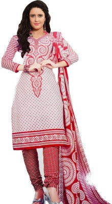 Family Shop Cotton Printed Salwar Suit Dupatta Material