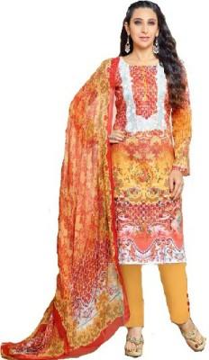 Shafie Wool Printed Salwar Suit Dupatta Material