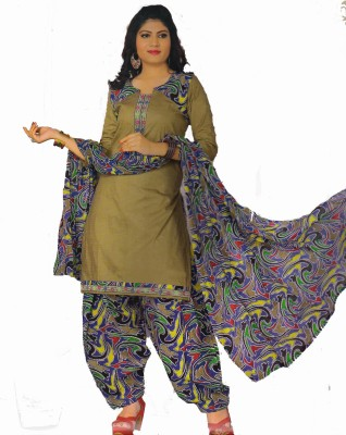 Blossom Cotton Printed Salwar Suit Dupatta Material