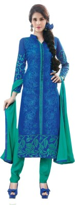 RGNRetails Cotton Embroidered Salwar Suit Dupatta Material