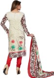 Pshopee Cotton Printed Salwar Suit Dupat...