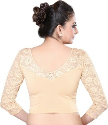 elanlifestyle Spandex Solid Blouse Material