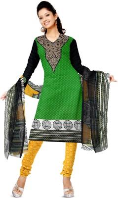 Shopeezo Cotton Geometric Print Salwar Suit Dupatta Material