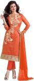 Aasvaa Chanderi Embroidered Salwar Suit ...