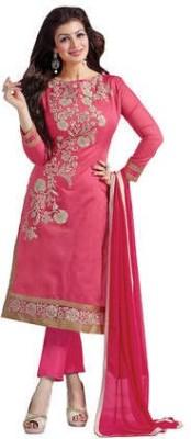 Miss Charming Cotton Self Design Dress/Top Material