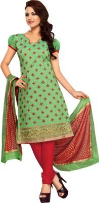 Gunjan01 Chanderi Embroidered Salwar Suit Dupatta Material