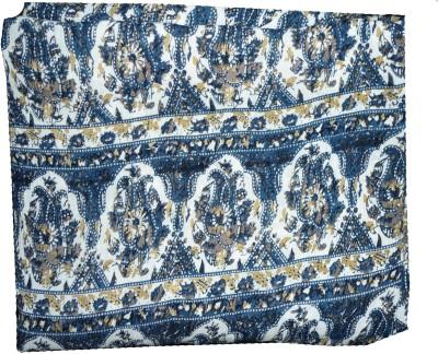 Mrignayaneei Rayon, Crepe Paisley, Floral Print Multi-purpose Fabric