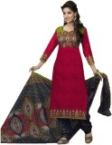 Diyastyle Cotton Printed Salwar Suit Dup...
