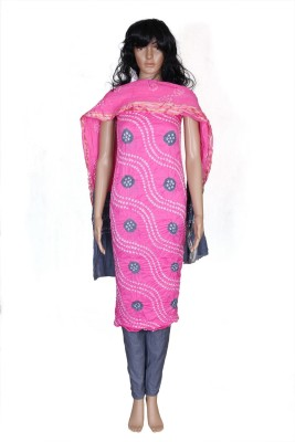 KAJCI Cotton Solid Salwar Suit Dupatta Material