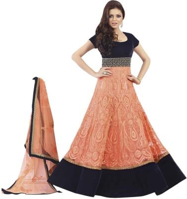Mychoicefashion Georgette Self Design Salwar Suit Dupatta Material