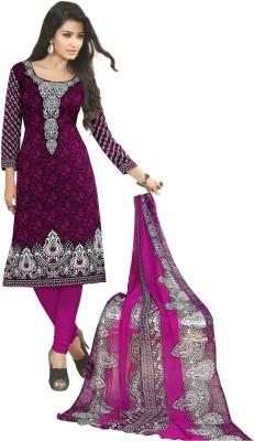 Priyanshi Crepe Printed Salwar Suit Dupatta Material