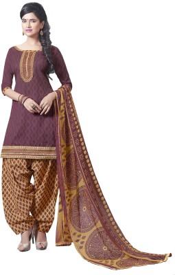 Manthan Jacquard Embroidered Salwar Suit Dupatta Material