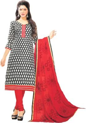 Banjaraindia Chanderi Printed Salwar Suit Dupatta Material