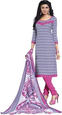 Miss Charming Crepe Self Design Salwar Suit Dupatta Material