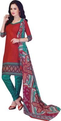 Alolah Cotton Printed Salwar Suit Dupatta Material