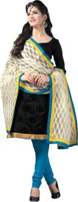 Saara Chanderi Solid Salwar Suit Dupatta Material(Un-stitched) at flipkart