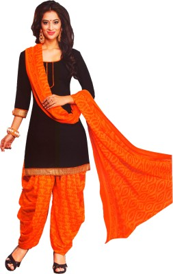 Women Shoppee Synthetic Printed Salwar Suit Dupatta Material