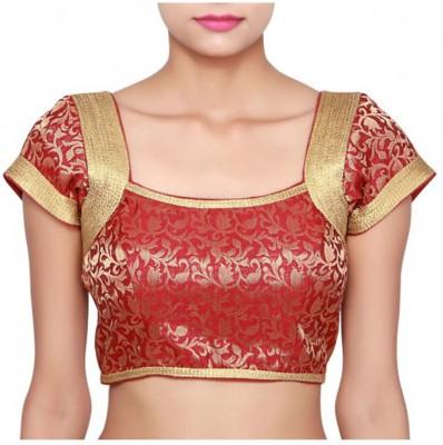 Shreeji Fashion Jacquard Self Design Blouse Material