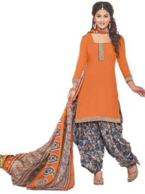 zhenith creation Cotton Printed Salwar Suit Dupatta Material