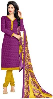 King Sales Cotton Printed Salwar Suit Material, Salwar Suit Dupatta Material