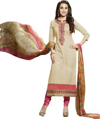 Silkbazar Cotton Embroidered Salwar Suit Dupatta Material