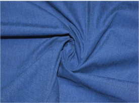 V WALKERS Cotton Solid Shirt Fabric(Un-stitched)