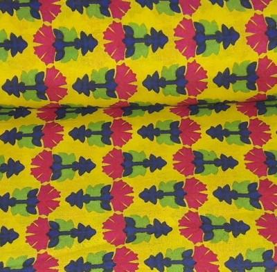 REKA EXPORT Cotton Printed Kurti Fabric, Dress/Top Material