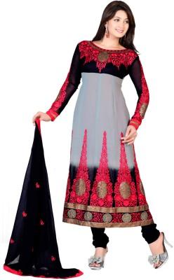 Fabdeal Georgette Printed Salwar Suit Material