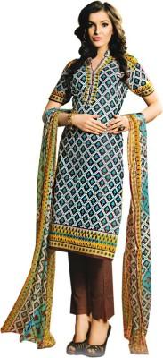Yati Cotton Floral Print Salwar Suit Dupatta Material