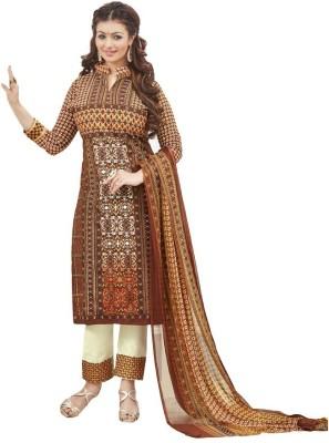 Saumya Designer Georgette Printed Salwar Suit Dupatta Material