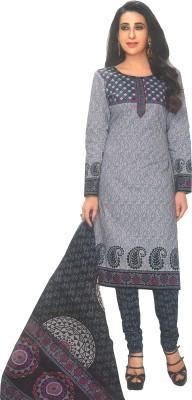 Shree Ganesh Cotton Printed Kurta & Churidar Material