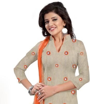 Dress Material Jute Printed Salwar Suit Dupatta Material