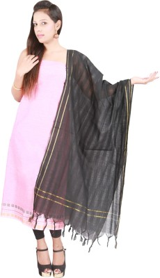 Pratami Cotton Solid Salwar Suit Dupatta Material