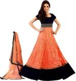 Laazree Georgette Embroidered Salwar Sui...