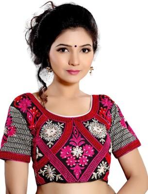 Inidan E Fashion Silk Paisley, Striped Blouse Material
