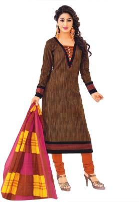 Jevi Prints Cotton Printed Salwar Suit Dupatta Material