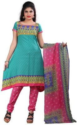 Divy Crepe Printed Salwar Suit Dupatta Material
