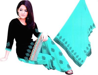 Fashion Flash Cotton Applique Salwar Suit Material
