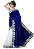 FastColors Embroidered Bollywood Georget...