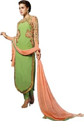 Jealous Boutique Georgette Embroidered Salwar Suit Dupatta Material