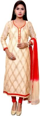Unique Creation Cotton Printed Semi-stitched Salwar Suit Dupatta Material